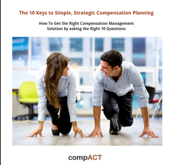 10 Keys to Compensation Management Software White paper